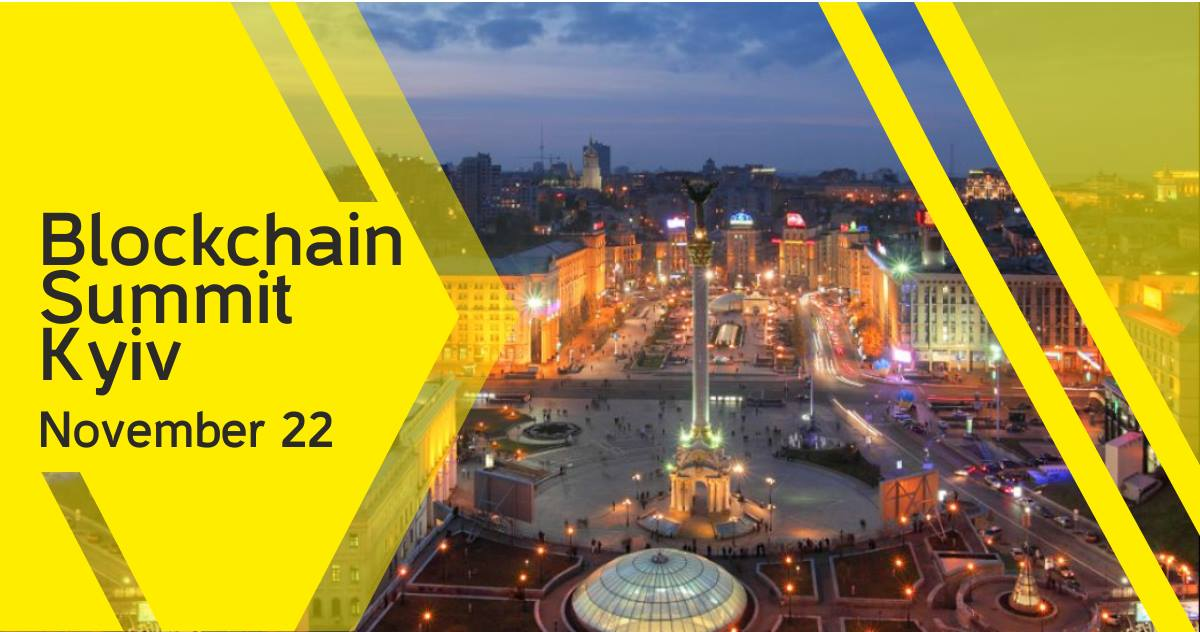 Blockchain Summit Kyiv 2018